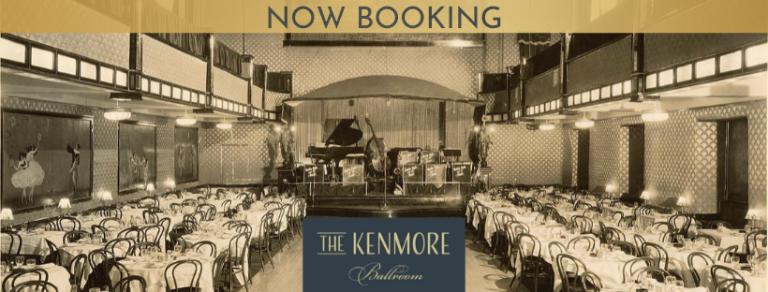 Kenmore Ballroom Home Page Screenshot